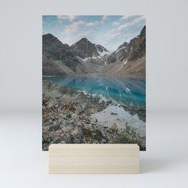 Blue Lake - Landscape and Nature Photography Mini Art Print
