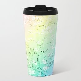 Van Gogh Almond Blossoms : Pastel Rainbows Travel Mug