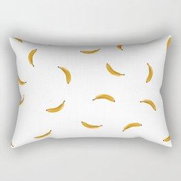 Bananas Fruit Illustration Rectangular Pillow