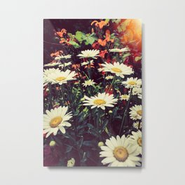 OH! For the Love of Flowers Metal Print