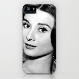 Audrey Close Up iPhone Case