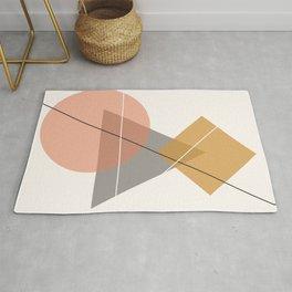 Abstract Bauhaus Rug