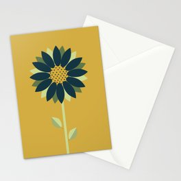 Gazing at the Sun Stationery Cards