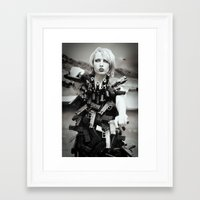 guns Framed Art Prints featuring Guns by Pedro E Bauza