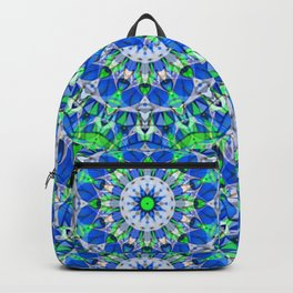 Mandala Geometric Flower G535 Backpack