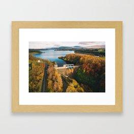 Poulaphouca Hydro Station Wicklow Ireland Framed Art Print