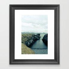Snaefellsness Framed Art Print