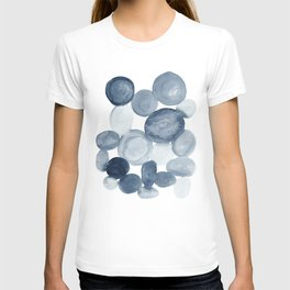 Pebbles Watercolor Abstract T-shirt
