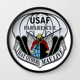 Air Force Parajumpers Wall Clock