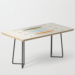 Mid-Century Modern Art 1.2 Coffee Table