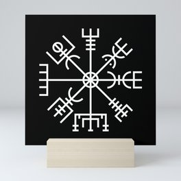 Vegvisir - Viking Rune Mini Art Print