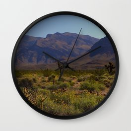 Painted Desert - IV Wall Clock
