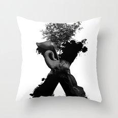 X Animals II Throw Pillow