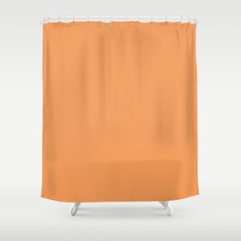 Asymmetrical Glow ~ Apricot Shower Curtain