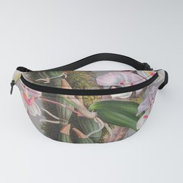 Aganisia Cyanea Little Pink Orchids Fanny Pack