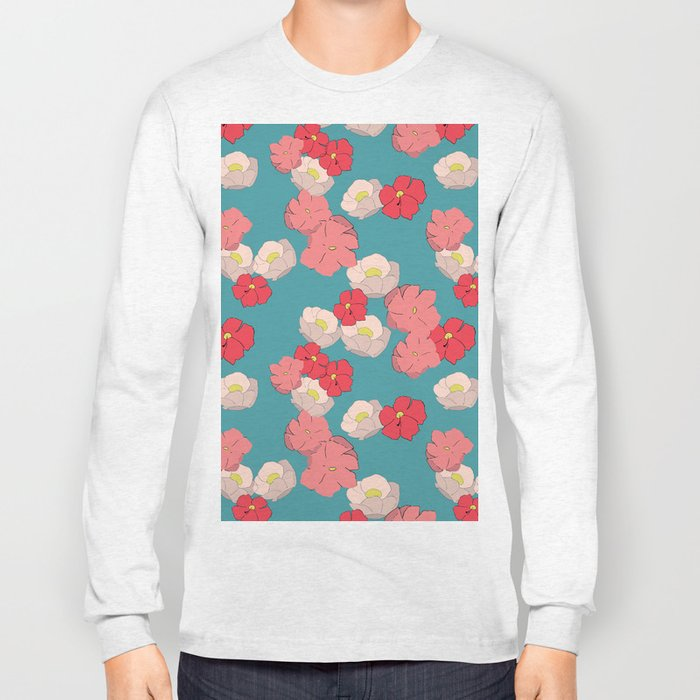 Blooming graphic Long Sleeve T-shirt