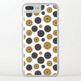Gol Sun Clear iPhone Case