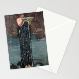 Circe Invidiosa - John William Waterhouse Stationery Cards