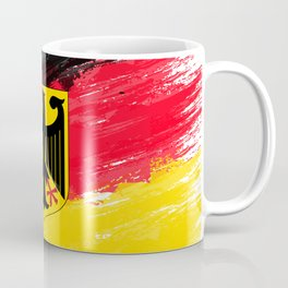 Germany's Flag Design Coffee Mug