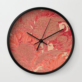 Sunflowers Sunset Garden Wall Clock