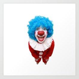 Happy Clown Art Print