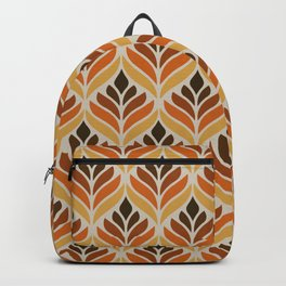 Retro Flower Pattern Backpack