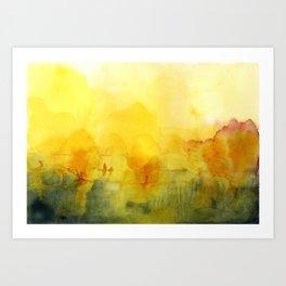 Memory of a landscape Art Print