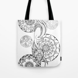 Blessing for peaceful mind Tote Bag