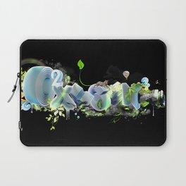 Oxygen CO2 Laptop Sleeve