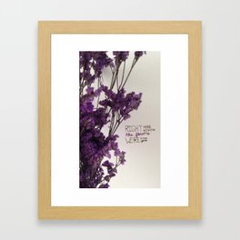 This Was A Movie Framed Art Print