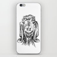 goat iPhone & iPod Skins featuring Goat by Sarah Mosser