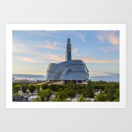 Canadian Museum for Human Rights Art Print