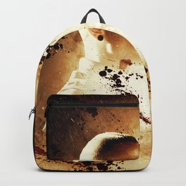 Chester Bennington Poster in vintage style Backpack