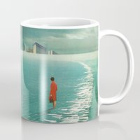 cities Mugs featuring Waiting For The Cities To Fade Out by Frank Moth