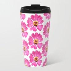 Pink Flower 28 Travel Mug