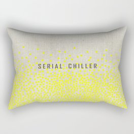 Serial Chiller on Confetti Rectangular Pillow