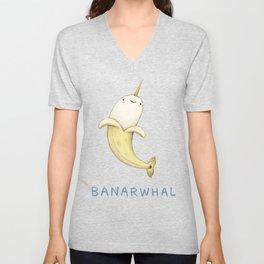Banarwhal Unisex V-Neck