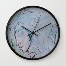 GODDESS OF LIQUID Wall Clock