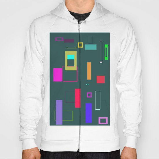 Squares and Rectangles Hoody