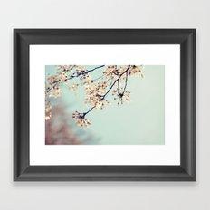 under the blue skies ...  Framed Art Print