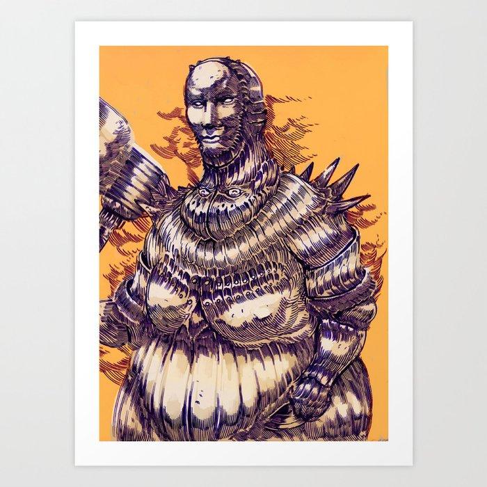 Executioner Smough Art Print