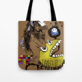 I AIN'T AFRAID OF NO GHOST Tote Bag
