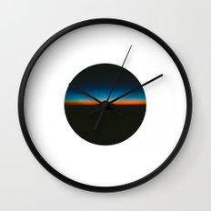 Sunset view Wall Clock