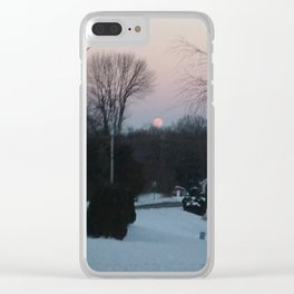 Ember Twilight Clear iPhone Case