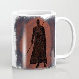 Red Robin Splatter Background Coffee Mug