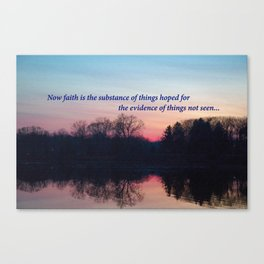 Chasing the Sun at Sunset  Canvas Print