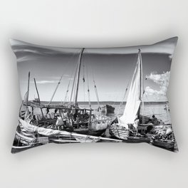 Dhow Zanzibar Indian Ocean Rectangular Pillow
