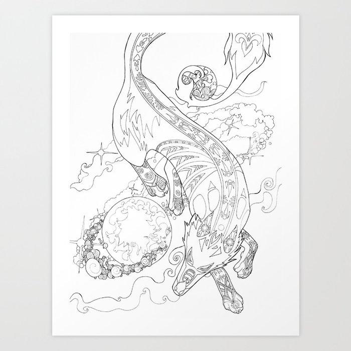 Gern Finds A World Art Print