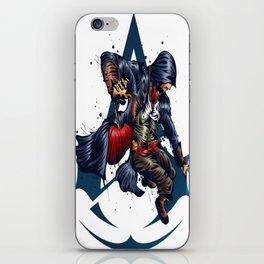 Assassin_s Attack iPhone Skin