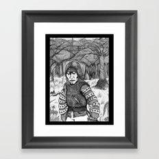 Aguirre, der Zorn Gottes Framed Art Print